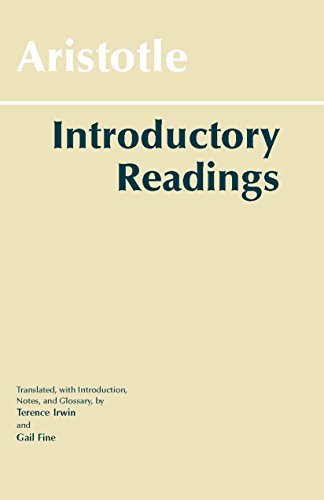Aristotle: Introductory Readings by Aristotle (1996-10-01)