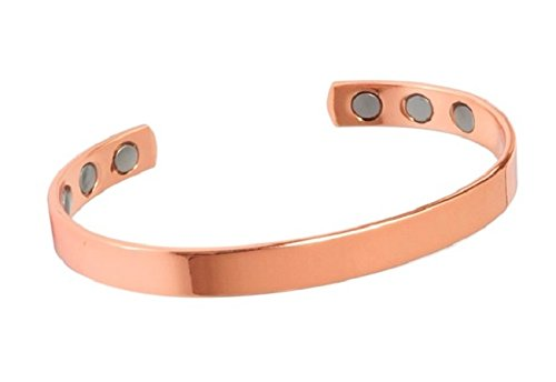 dce51b6e5bb Magnetic Bangles By Present Days - Bracciale rigido in rame