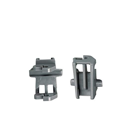 2xLager Klemme Korbablage Oberkorb Spülmaschine Bosch Constructa Gaggenau Neff 611474 00611474
