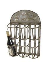 Vintage Flaschenständer Flaschenhalter Weinflaschenhalter für 6 Flaschen