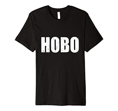 (Hobo T Shirt Halloween-Kostüm Funny Retro Distressed)