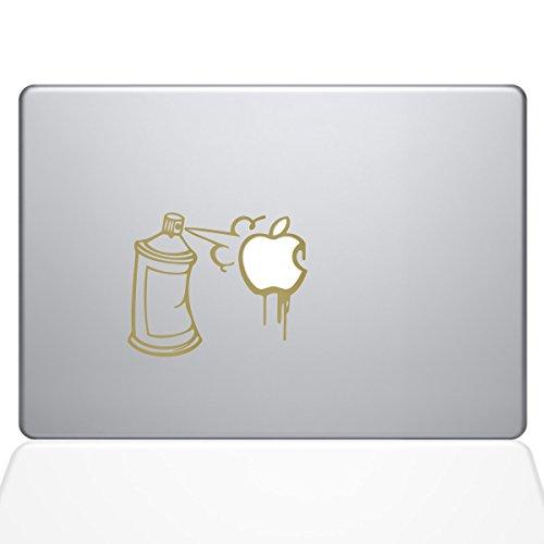 "Preisvergleich Produktbild Die Aufkleber Guru Graffiti Apple Spray kann Aufkleber Vinyl Aufkleber,  33 cm MacBook Pro (2016 Modelle) Gold Gold 13"" MacBook Pro (2016 & Newer)"
