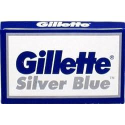5 cuchillas de afeitar Gillette Silver Blue (1 paquete)