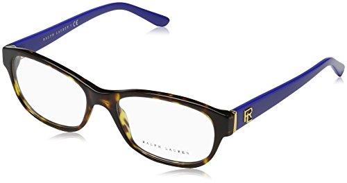 Ralph Lauren - RL 6148, Rechteckig, Acetat, Damenbrillen, DARK HAVANA(5566), 53/17/140