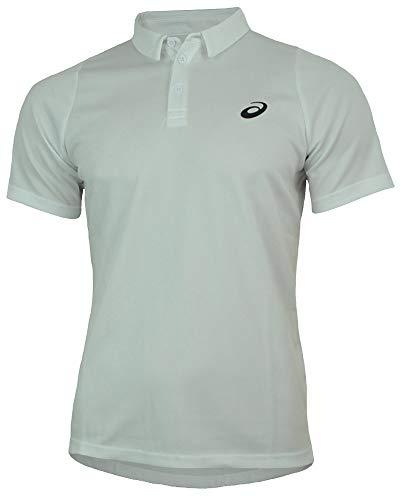 ASICS Oberbekleidung Club Short Sleeve Polo, weiß, M
