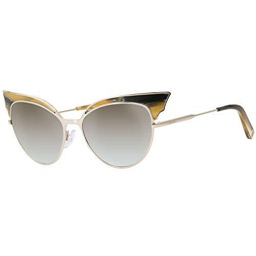 bc25138f63379a D Squared Lunettes de soleil Pour Femme 0166 - 64F  Coloured Horn   Gold