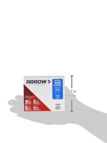 Arrow 160814 T50 Boîte de 1250 Agrafes 14 mm