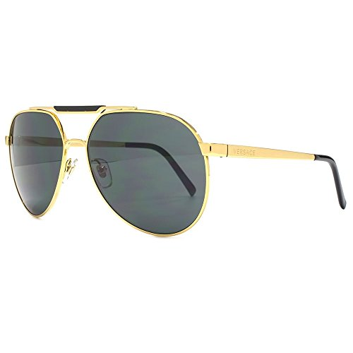 Versace-Mens-VE-2155-Pop-Chic-Versace-Logo-Aviator-Sunglasses