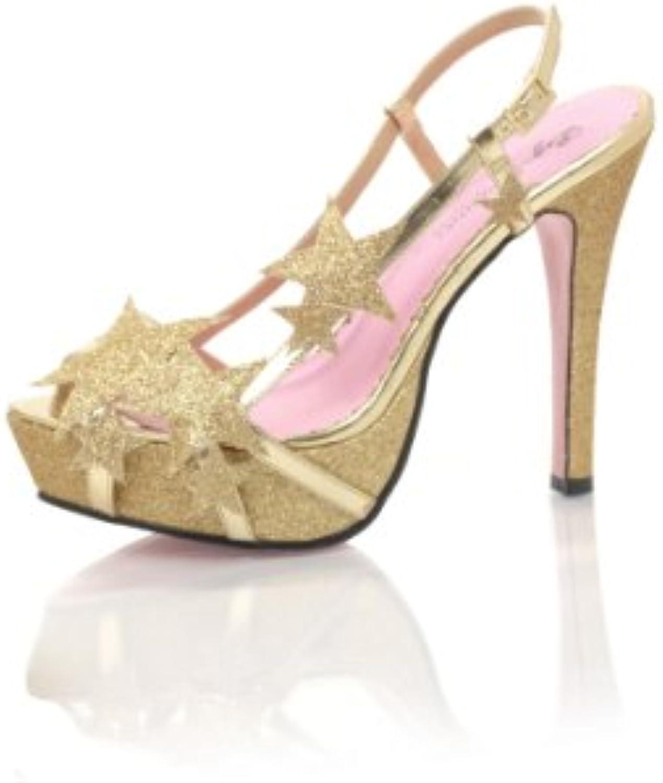 Leg avenue Chaussure Chaussure avenue s - Chaussures a Talons Starlette - Taille 36 - Couleur OrB008Z1D8D2Parent 987996
