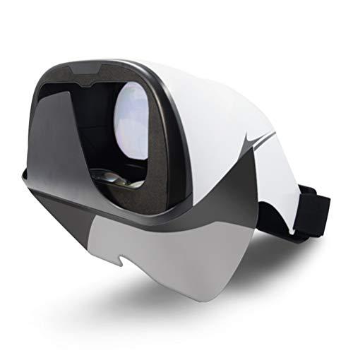 MKQB VR-Brille Am Kopf montiert 3D Film VR-Brille 360 ° Panorama Kompatibel Android Und IOS Mobiltelefon VR-Brille 4,2-5,7 Zoll Mobiltelefon VR-Brille