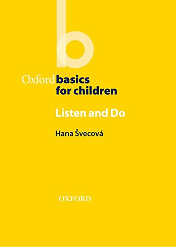 Listen and Do (Oxford Basics for Children)