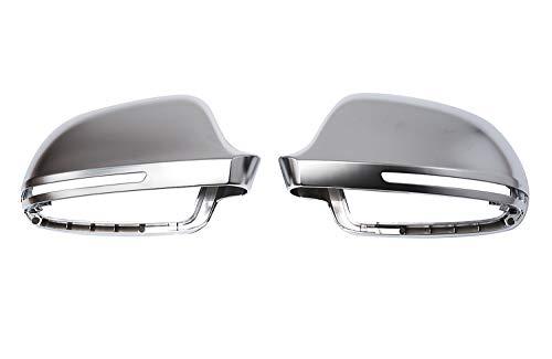 Design Aluminium Miroir Couverture Capuchon Boîtier gauche + droite Set