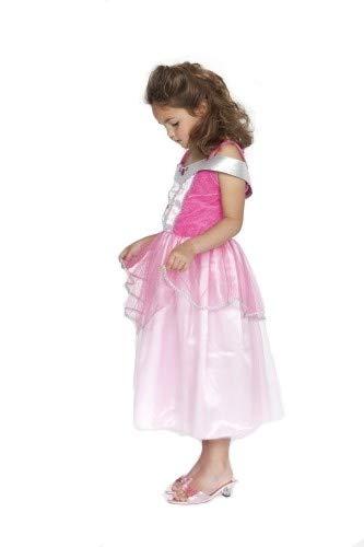 Rose & Romeo - 10008 - Déguisement Pour Enfant - Quiana - Robe - Rose/Fuchsia/Argent