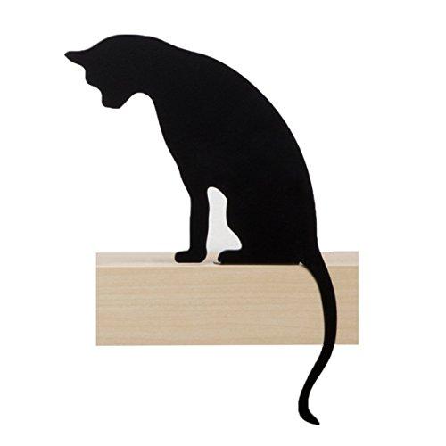 De Chat Meow – Princesse – décoratif en métal Noir Chat Silhouette