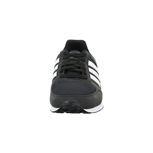 adidas Neo City Racer, Scarpe da Ginnastica Uomo Nero (Core Black/Ftwr White)