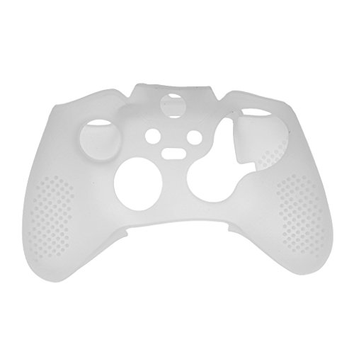 Generic White Silicone Protective Skin Case Cover for Xbox One Game Controller
