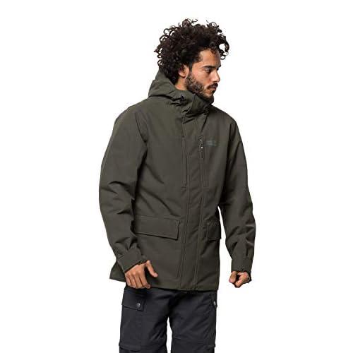 31KwbFwYSCL. SS500  - Jack Wolfskin Men's West Coast Weather Protection Jacket