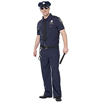Smiffys 24341L Déguisement Homme Policière de NYC 29fa9ec44c8