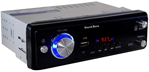 Sound Boss Car FM/USB/SD/AUX/Bluetooth MP3 Player.