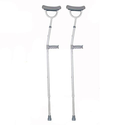 Dbtxwd Krücken-Ergonomische Griffe Gehende Unterarm-Unterarm-Krücke Mit Justierbarer Arm-Unterstützung Für Ältere Gehbehinderten Leute Gehstock,2Pcs (Krücke Arm)
