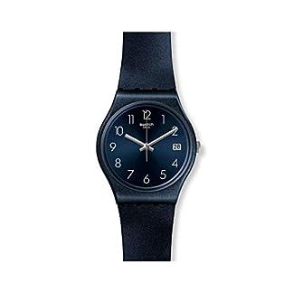 Swatch Reloj Analógico para Mujer de Cuarzo con Correa en Silicona GN414