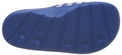adidas Duramo Slide Unisex-Kinder Dusch & Badeschuhe Blau (Bahia Blue S14/Running White Ftw/Bahia Blue S14)