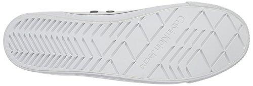 Calvin Klein JeansDOLORES CANVAS - Scarpe da Ginnastica Basse Donna Bianco (White)