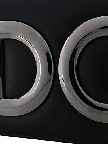 Dolce & Gabbana Borsa A Spalla Donna Bb6498ai19880999 Pelle Nero