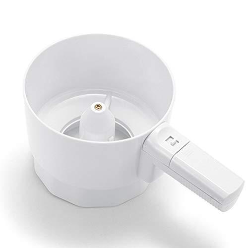 LYCOS3 Elektrisches Mehlsieb aus Kunststoff, elektrischer Mehlsieb in Handform, mechanisches Sieb, Pulversieb für Zuckergusszucker