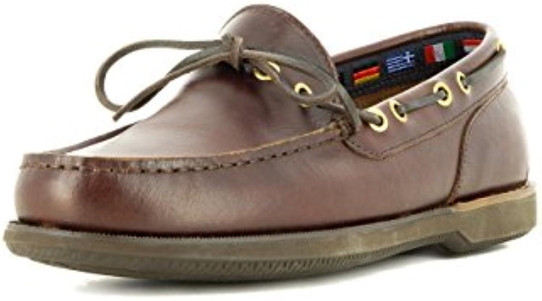 Seaside Zapato Náutico para Hombre Color Marrón, 45 EU
