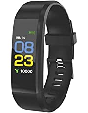 PEBBLE KARDIO Fitness Tracker for Monitoring Heart Rate, Step Pedometer, Calorie, Notifications, Call Alert, BP, Remote Shoot, Alarm and Sleep Monitor