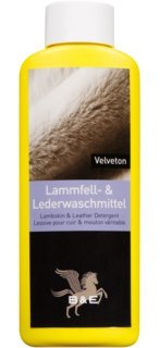 B&E Velveton Lammfell- & Lederwaschmittel 500 ml - C-messbecher 4