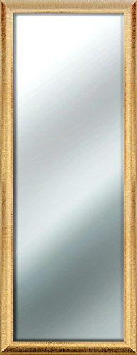 Specchio Da Parete Mirror Sharon 50x130 Cm Gold
