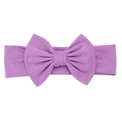 Coddington Kinder Mädchen Cotton Elastic Bow Stirnband geknotete Haar-Band-Kleinkind-Kind-Mädchen-Kopfschmuck -