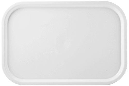 Giganplast Gilly Vassoio, Plastica, Bianco