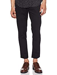 Amazon Brand - House & Shields Men's Slim Fit Casual Trousers