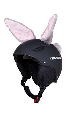 Accessori CASCO Orecchie CONIGLIO da applicare al casco sci moto adulti bamb