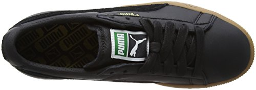 Puma Basket Classic Gum Deluxe, Scarpe da Ginnastica Basse Unisex – Adulto Nero (Puma Black)
