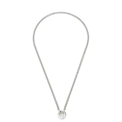 Leonardo Jewels Damen Halskette ohne Anhänger Edelstahl 70 cm