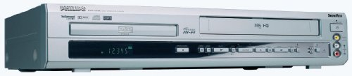 Philips DVD 740 VR DVD/VCR-Kombi-Player silber
