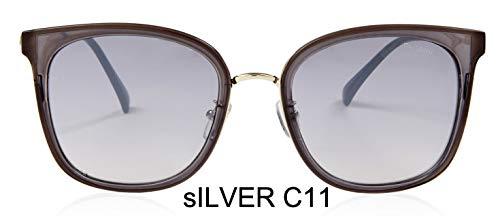 LKVNHP Protable Uva Farbverlauf Quadrat Sonnenbrille Frauen Spiegel Lila Mode Hohe Qualität Anti-reflektierende Brille
