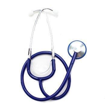 Merlin Medical - Stetoscopio blu giocattolo - Media Scope