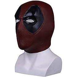 Kugga Máscara De Disfraces De Halloween Marvel COS Mask para Decoración / Colección, Deadpool (párrafo Corto)
