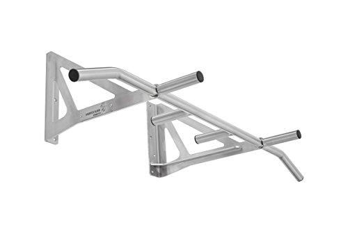 Hold Strong Fitness Klimmzugstange - Montage über dem Türrahmen mit 10 Jahren Herstellergarantie und Studiozulassung - Edelstahl/Outdoor