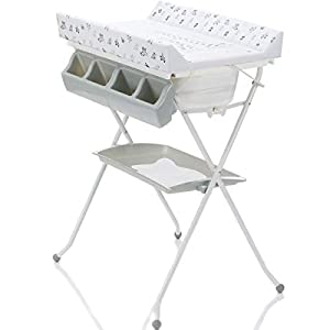 2 IN1 Winding Combi Changing Table and Bath Foldable for Baby