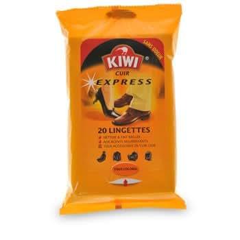 KIWI - Cuir Express - Lingettes tout coloris sans odeur