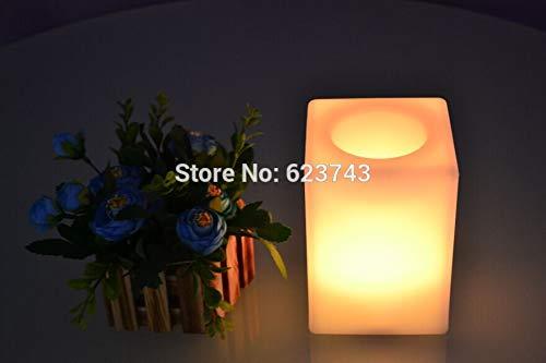 Multi-Color Touch Sensing Quader Bar Tischlampe wasserdicht wiederaufladbare Blumentopf Eiskübel Lagertank