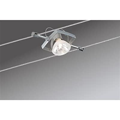 Paulmann 97493 Wire System Mac II 150 7x20W GU5,3 Chrom matt 230/12V 150VA Metall von Paulmann Leuchten - Lampenhans.de