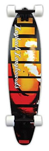 LAYBACK Komplett Red Tide Pintail Skateboard, 38