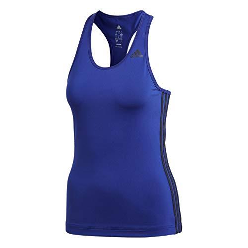 Adidas D2M Tank 3S Camisa de Golf, Mujer, (purrea), S